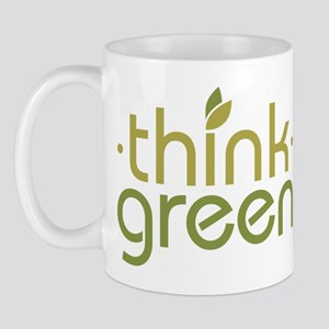Think Green [text] Mug